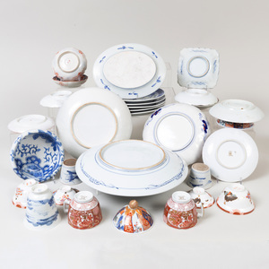 Group of Japanese Porcelain Table Wares