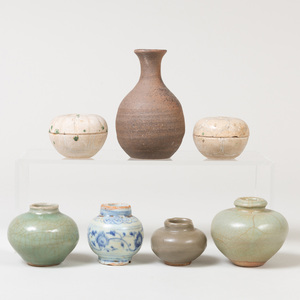Group of Chinese Porcelain Vessels