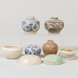 Group of Chinese  and Asian Porcelain