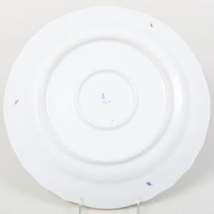 Herend Porcelain Circular Platter, in the 'Market Garden' Pattern
