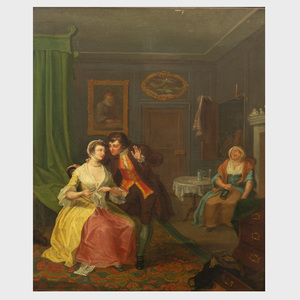 Attributed to William Dawes (active c. 1760-1774): The Wife and the Physician