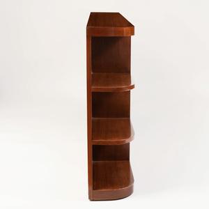 Art Deco Style Mahogany Bookcase