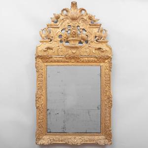 Régence Giltwood Mirror