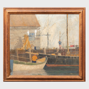 William Thon (1906-2000): Morning Gloucester