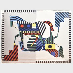 Hermes Cashmere Horse Blanket