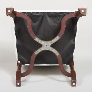 Baroque Style Mahogany Armchair
