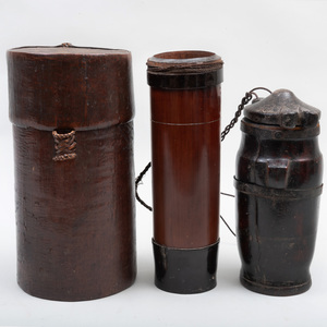Group of Three Southeast Asian Storage Vessels