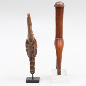 Baule Wood Sling Shot, Ivory Coast