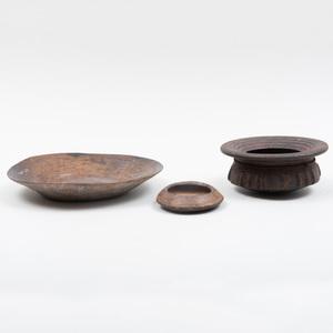 Kuba Pottery Bowl, Democratic Republic of the Congo