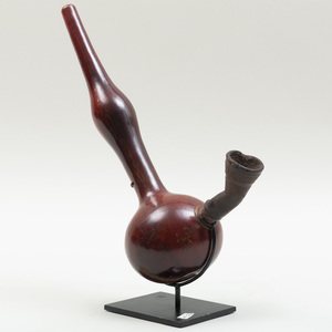 West African Gourd-Form Pipe