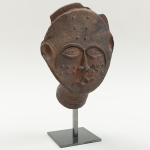 Akan Pottery Mask, Ghana