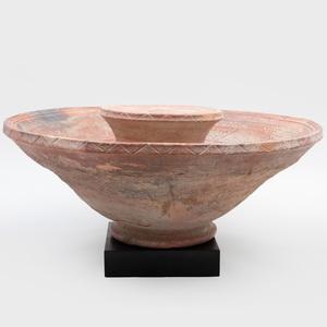 Large Inner Niger Delta Pottery Bowl, Mali