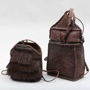 Ifugao Woven Rattan Backpack, Philippines