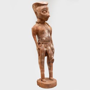 Carved Wood Cameroon Figure