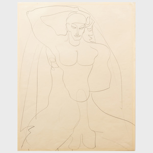 Gaston Lachaise (1882-1935): Untitled