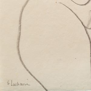 Gaston Lachaise (1882-1935): Untitled