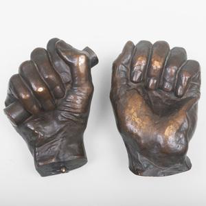 Leonard Wells Volk (1828-1895): Lincoln's Hands