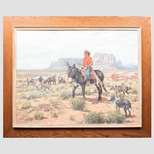 Paul Salisbury (1903-1973): Navajo Boy