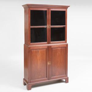 George II Mahogany Bookcase