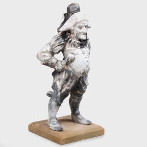 Edwardian Lead Figure of Mr. Punch