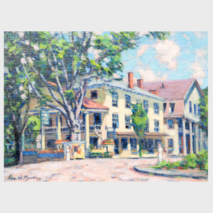 John W. Bentley (1880-1951): Ye Olde Woodstock Inn