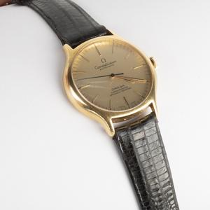 Gentleman's Omega 14k Gold Cronometer Wristwatch, Constellation Automatic