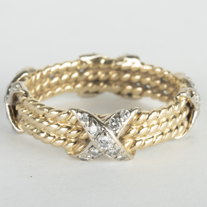 Two 14k Gold Rings