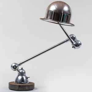 Jean-Louis Domecq Chrome Desk Lamp