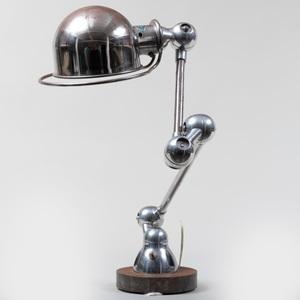Jean-Louis Domecq Chrome Desk Lamp