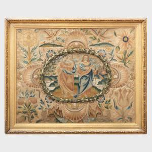 Charles II Needlework Panel