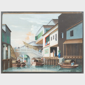 Chinese School: View of a Canal