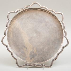 Henry Petzal Silver Circular Tray
