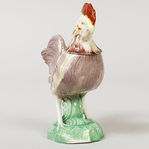 Ralph Wood Staffordshire Pottery Model of a Rooster