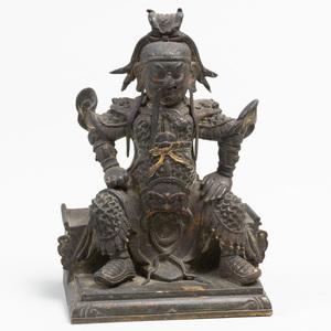 Chinese Bronze Figure of Guandi
