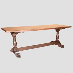 Italian Walnut Refectory Table
