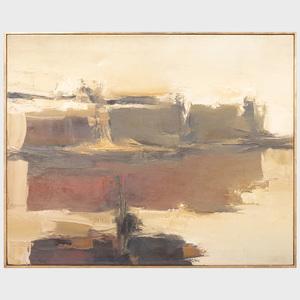 Carlos Canas (b. 1963): Imagen del Rio Negro