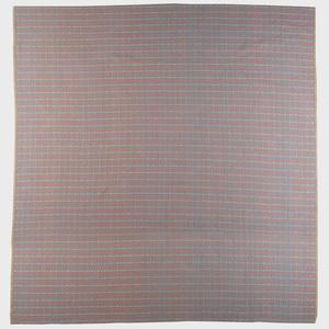 Custom Woven Wool and Linen Carpet