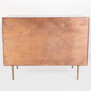 Mid Century Modern Ebonized Side Cabinet