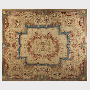 European Floral Pile Carpet