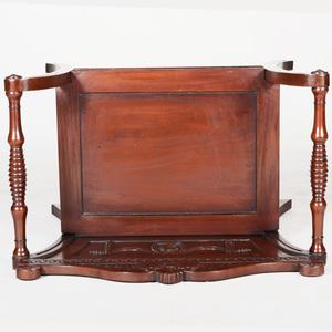 George III Style Mahogany Hall Chair