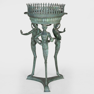 Italian Neoclassical Style Bronze Jardinière