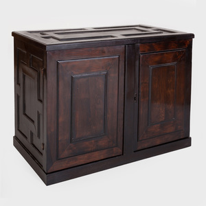 Fine Flemish Baroque Carved Ebony Cabinet