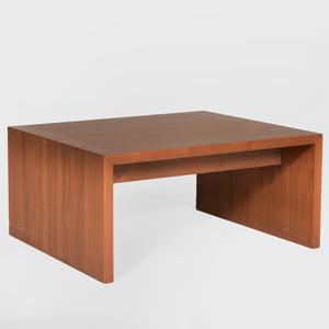 Modern Walnut Low Table