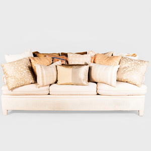 Miscellaneous Group of Seventeen Brown and Beige Pillows