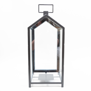 Set of Ten Modern Metal Lanterns