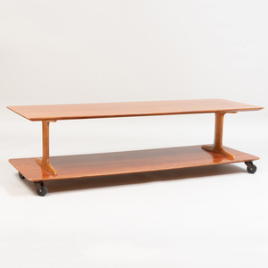 Robsjohn-Gibbings Maple Two Tier Low Table