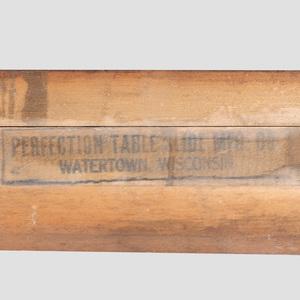 Robsjohn-Gibbings Mahogany Extension Dining Table, for Widdicomb