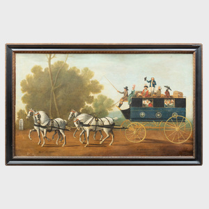 English School: Collyer, London to Winton Stagecoach