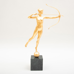 After Augustus St. Gaudens (1877-1907): Diana