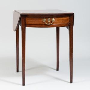 Provincial George III Mahogany Pembroke Table